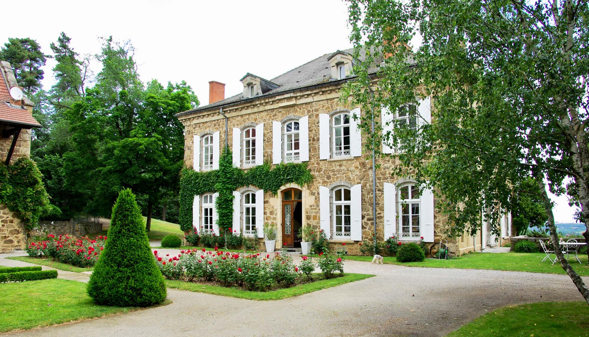 Château des Gaudras (Roiffieux)