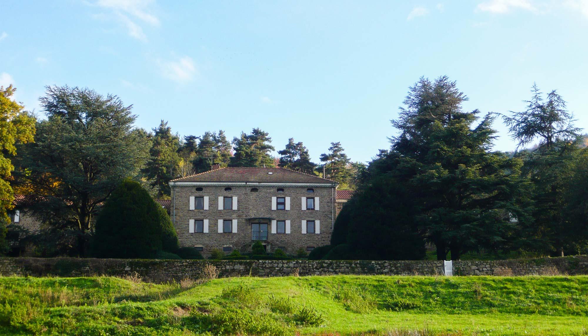 Château de Pralon (Satillieu)